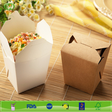 32oz hot sell disposable take away food box, food container