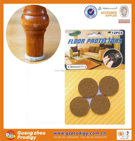furniture leg pads in cork material table leg protection floor protection