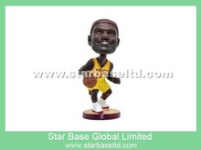 High quality custom NBA basketball player bobblehead