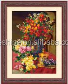 Handmade flower series needlework cross embroidery kits cross stitch