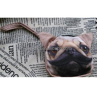 Wholesale New Fashion Dog Polyester Men Coin Purses