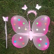 Cheap hot sale fancy dress butterfly wings carnival wings QFW-1019