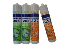 On sale liquid silicone sealant coloured heat resistant glass silicone high temp silicone sealant