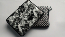 Flower pattern design PU leather laptop notebook sleeve