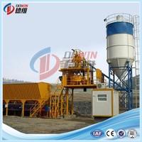 twin shafts mixer concrete batching plant HZS50 panel controller