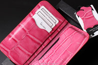 Brand DC handmade Crafted genuine mobile phone case for apple iphone 6 4.7inch pink