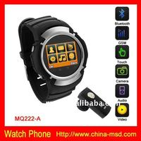 2013 Latest cell phone watch with camera touch screen