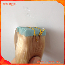Qingdao Factory Wholesale Top Quality Various Color Cheap Brazilian Tape Hair Extensions