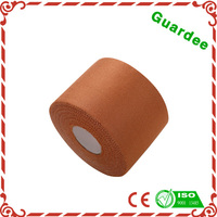5cm*9.1m Skin Color Strong Zinc Oxide Adhesive Rayon Rigid Strapping sport tex tape