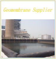 2mm waterproof HDPE Geomembrane for oil tank basement treatment