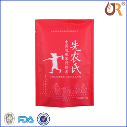 China Mainland packaging plastic bag for food and snack packaging