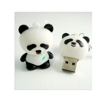 Cute Cartoon Panda Bear model pendrive card USB2.0 flash pen drive memory stick 4GB 8GB