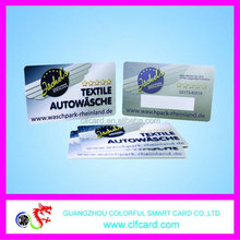Top grade newly design discount optional colors abs card