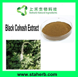 Manufacturer Supplier 2.5% Triterpenoid Saponins Black Cohosh Extract Black Cohosh Extract Power