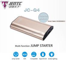 Automotive Battery Car Booster Pack Vehicle Jump Starter Jumpstart pocket input 5V/1A jump starter