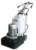 construiction Floor Grinder magnatic plates with 12 grinding head