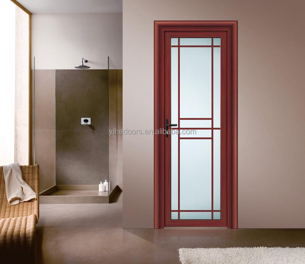 Puertas de aluminio con cristal para exterior amazing for Puertas madera y cristal interior