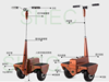 Electric Scooter sport mini gas scooter sx-g110