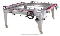 screen stretching film making machine