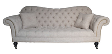 Italian Style Comfortable Upholstered Chesterfield Sofa