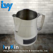 Able to read temperature espresso milk jug/milk pitcher