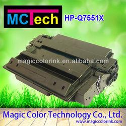 Toner cartridge for HP 7551X