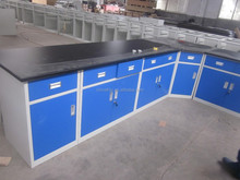 Furniture manufacturer 3 years warranty all steel / steel wood for laboratory bench price