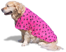 Dog Drying Towel Jacket- Microfiber Towelling Absorbs Water and Fleece Outer Keeps Your Pet Warm- Best Coat for After Bath.