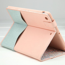 Baby pink cover cases for ipad 4 , cover case for ipad