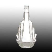 square glass wine bottle for vodka