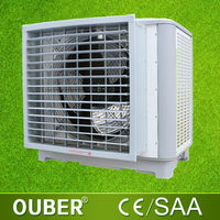 Energy saving evaporative honeycomb cooling pad air cooler window type evaporative air conditioner cooler