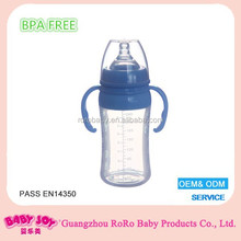 Silicone baby bottle 350ml hot new products for 2015 hot water bottle silicone
