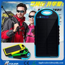 solar power bank charger 12000mah portable 5v lipo battery power bank solar power bank for mobile phone/iPhone/iPad