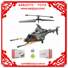 3ch shoot missile rc helicopter SJY-U810 MARINES Missile Helicopter for children rc toys Launching Missile