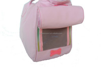 PU Pet Carry Bag For Travel Carrier