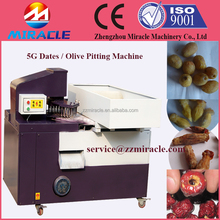 Fully automatic date seeds pitter, olive pitting machine with auto-discharge port pitting machines