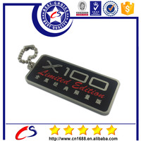 2015 high quality OEM direct sale thin metal plate keyring with custom design logo