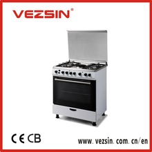 5 gas burner,80*60, Free-standing gas cooker,cooking ranges, oven, gas & electric