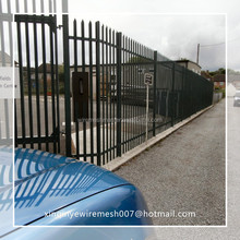 """xinqinye good price 72\"""" height wrought iron fence high quality supplier"""