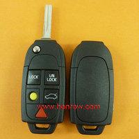 High quality Volvo 5 button remote car key blank without Logo,car key