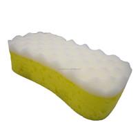 Eco-friendly 1PK Car polish sponge scouring pad custom made cleaning sponge scourer for car