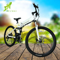 "China wholesale bicycle 26"" electric bike foldable"