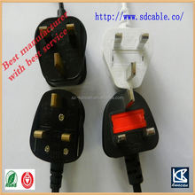 IEC c5 power connector bs 136 power cord with IEC c7 8 shape power cord AC power cable