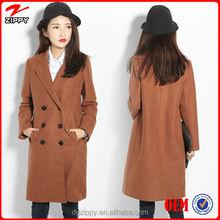 China factory wholesale costume long sleeve women winter coat
