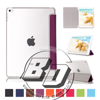 Super Clear Three Folding Table case For ipad mini 4 luxury cover case fast delivery