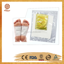 direct factory New product 100% Natural Chinese Herbal as seen as on TV silver detox foot patch