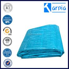 Green pe material tarp pe tarpaulin with uv treated