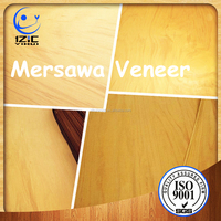Rubber Mersawa Wood Veneer