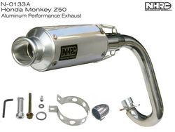 Racing muffler for HONDA MONKEY Z50