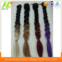 aliexpress 2015 best seller, two tone color synthetic hair braid